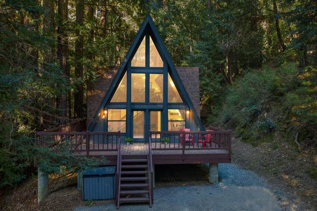 825 Tinkers Trail, Boulder Creek, CA 95006 (#ML81784488) :: Blue Line Property Group