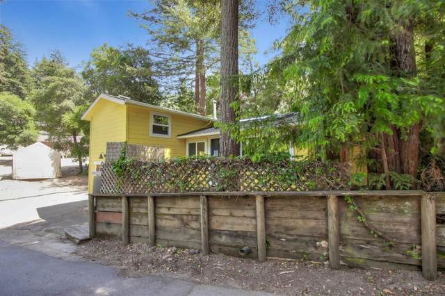 353 Madrona Road, Felton, CA 95018 (#ML81795490) :: The Grubb Company