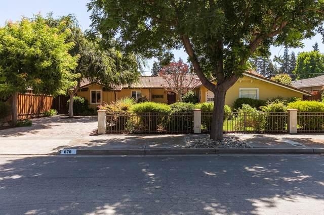 878 S Genevieve Lane, San Jose, CA 95128 (#ML81800313) :: The Grubb Company