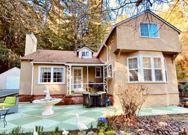 895 Hopkins Gulch Road, Boulder Creek, CA 95006 (#ML81826707) :: Realty World Property Network