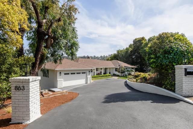 863 Vista Road, Hillsborough, CA 94010 (#ML81838575) :: Excel Fine Homes