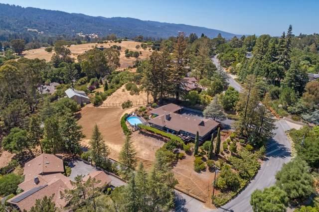 43 Hillbrook Drive, Portola Valley, CA 94028 (#ML81855179) :: The Grubb Company