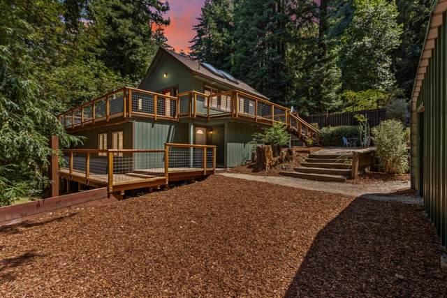 10545 Creekwood Drive, Felton, CA 95018 (#ML81856258) :: Swanson Real Estate Team | Keller Williams Tri-Valley Realty