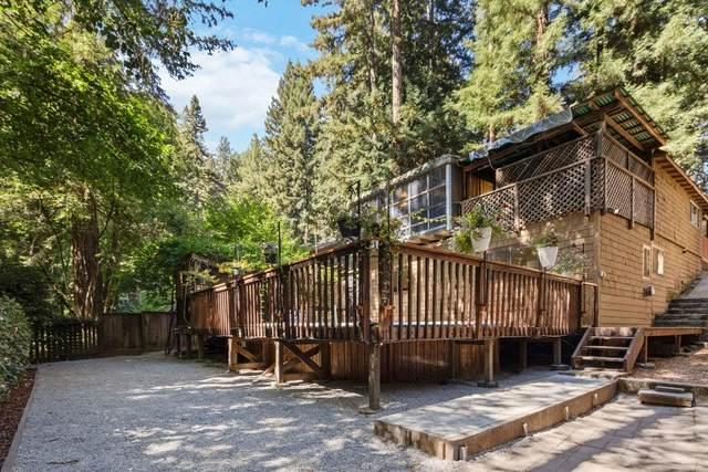 124 Crescent Drive, Boulder Creek, CA 95006 (#ML81862588) :: Realty World Property Network