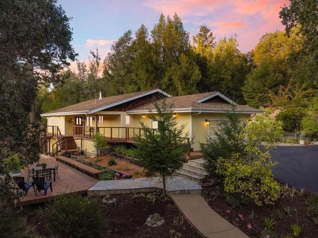 185 Buck Knoll Road, Boulder Creek, CA 95006 (#ML81863039) :: Realty World Property Network