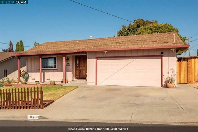 871 Rogers Way, Pinole, CA 94564 (#40876264) :: Armario Venema Homes Real Estate Team