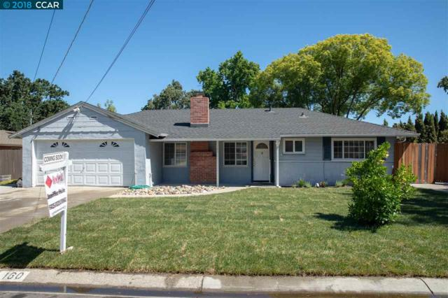 160 Beverly Dr, Pleasant Hill, CA 94523 (#40830260) :: Estates by Wendy Team