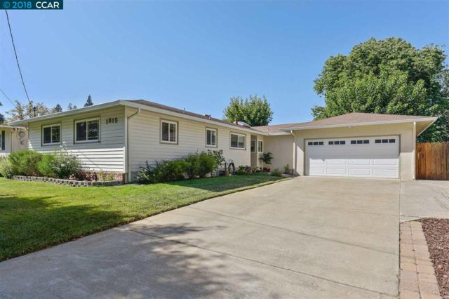 1815 Landana Drive, Concord, CA 94519 (#40840307) :: The Lucas Group