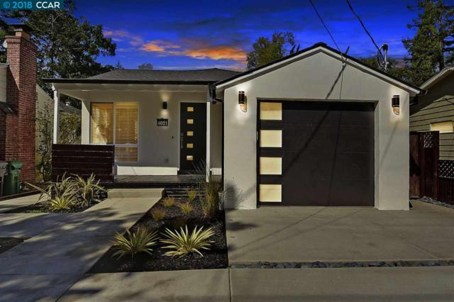 4021 Whittle Ave, Oakland, CA 94602 (#40841742) :: The Grubb Company