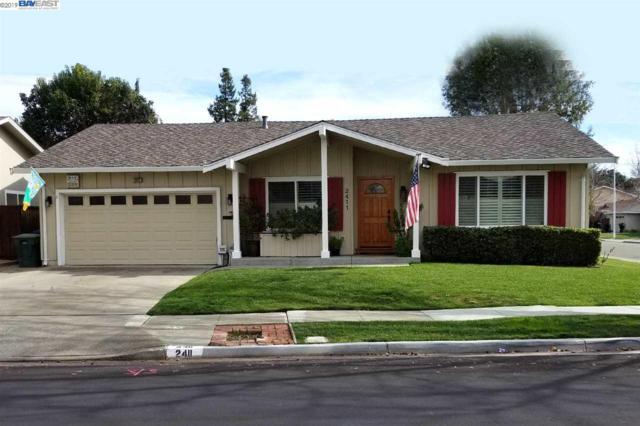 2411 Crestline Rd, Pleasanton, CA 94566 (#40852286) :: Armario Venema Homes Real Estate Team