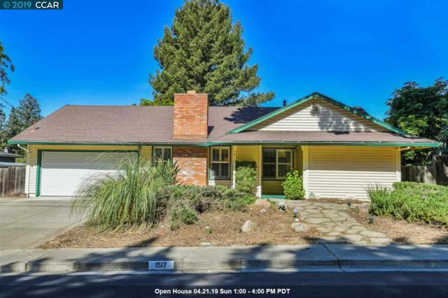 1517 Piedra Dr, Walnut Creek, CA 94597 (#40861817) :: The Grubb Company