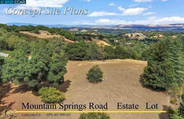 0 Mountain Spring Rd, Lafayette, CA 94549 (#40881393) :: The Venema Homes Team