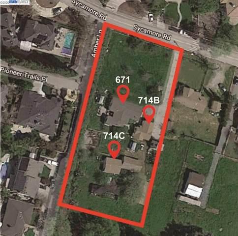 671 Sycamore Rd, Pleasanton, CA 94566 (#40903974) :: Armario Venema Homes Real Estate Team