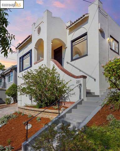 231 Park View Ave, Piedmont, CA 94610 (#40923175) :: Realty World Property Network