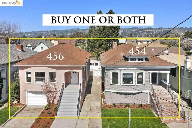 454-56 Cavour St, Oakland, CA 94618 (#40943958) :: Armario Homes Real Estate Team