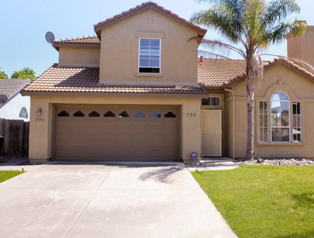 790 W Mount Diablo Avenue, Tracy, CA 95376 (#ML81752095) :: The Grubb Company