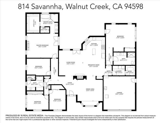 814 Savannah Circle, Walnut Creek, CA 94598 (#ML81857183) :: Realty World Property Network