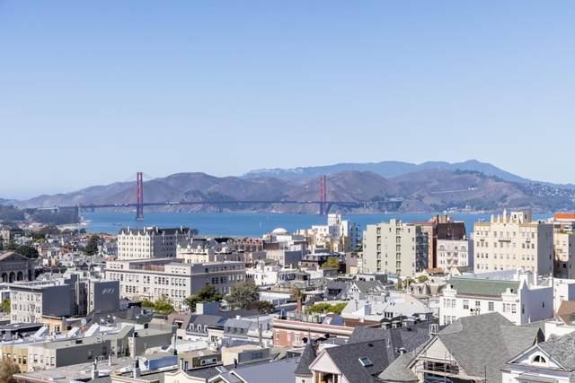 2200 Sacramento Street #905, San Francisco, CA 94115 (#ML81864684) :: The Grubb Company