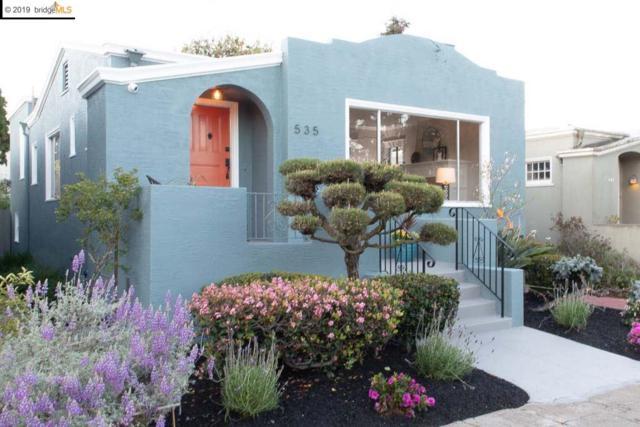 535 North St, Oakland, CA 94609 (#40859365) :: Armario Venema Homes Real Estate Team