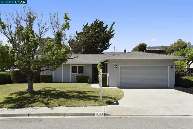 274 Fernwood Dr, Pleasant Hill, CA 94523 (#40870869) :: J. Rockcliff Realtors