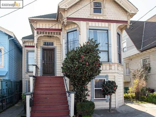 1821 E 15Th St, Oakland, CA 94606 (#40895574) :: Armario Venema Homes Real Estate Team