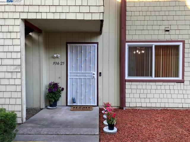 934 Cheryl Ann Cir #25, Hayward, CA 94544 (#40957952) :: Armario Homes Real Estate Team