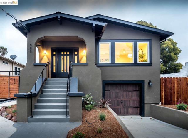 985 44Th Street, Oakland, CA 94608 (#40835692) :: The Grubb Company