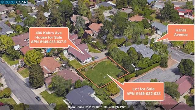 406 Kahrs Ave, Pleasant Hill, CA 94523 (#40892815) :: Armario Venema Homes Real Estate Team