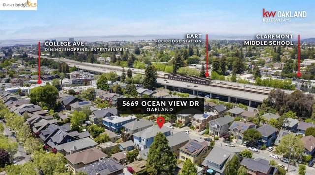 5669 Ocean View Dr, Oakland, CA 94618 (#40947048) :: The Venema Homes Team
