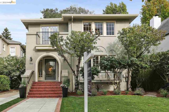 842 Grosvenor Pl, Oakland, CA 94610 (#40838414) :: Estates by Wendy Team