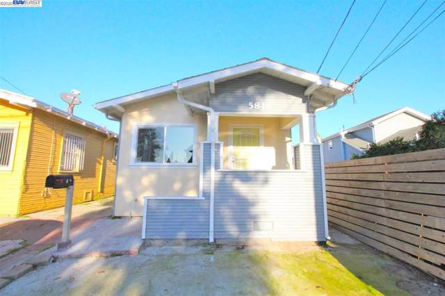 5816 E 17Th St, Oakland, CA 94621 (#40892232) :: Armario Venema Homes Real Estate Team
