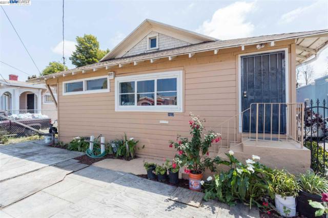 1452 70Th Ave, Oakland, CA 94621 (#40868503) :: Armario Venema Homes Real Estate Team