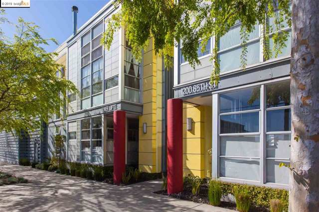 1200 65Th St #222, Emeryville, CA 94608 (#40883504) :: The Lucas Group