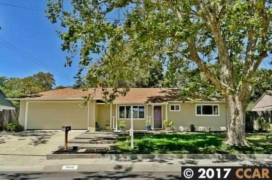 1642 Ruth Dr, Pleasant Hill, CA 94523 (#40790664) :: Realty World Property Network