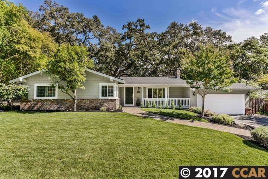 1030 Dolores Dr, Lafayette, CA 94549 (#40797985) :: Realty World Property Network