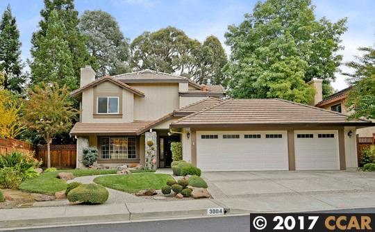 3004 Woodside Meadows Rd, Pleasant Hill, CA 94523 (#40803687) :: Realty World Property Network