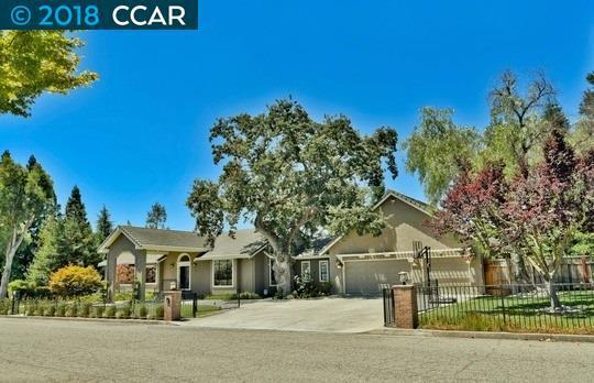 70 Vernal Ct, Alamo, CA 94507 (#40807683) :: Realty World Property Network
