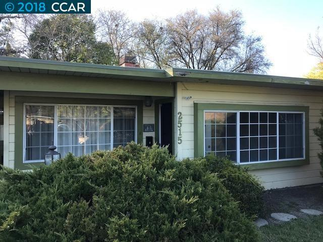 2515 Buena Vista Ave., Walnut Creek, CA 94597 (#40811638) :: Team Temby Properties