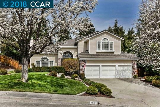 809 Ridgepointe Ct, San Ramon, CA 94582 (#40814980) :: Realty World Property Network