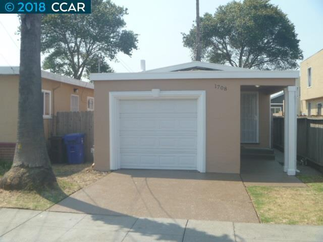 1708 Chanslor Ave, Richmond, CA 94801 (#40833183) :: Armario Venema Homes Real Estate Team