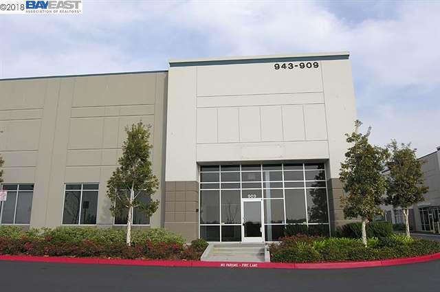 909 Corporate Way, Fremont, CA 94539 (#40841727) :: The Grubb Company