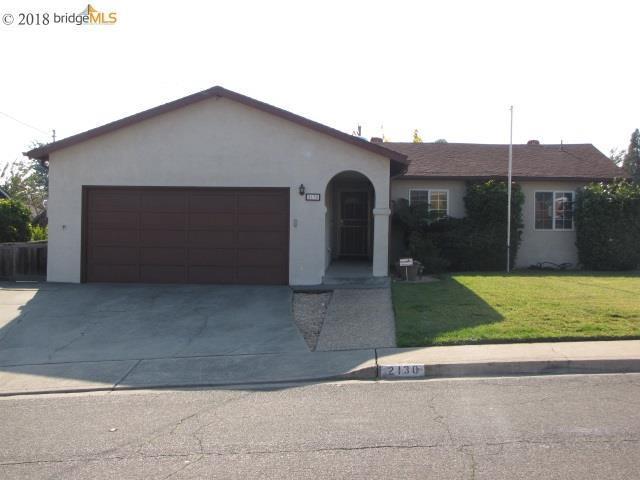 2130 Shasta Dr, Martinez, CA 94553 (#40847936) :: Blue Line Property Group