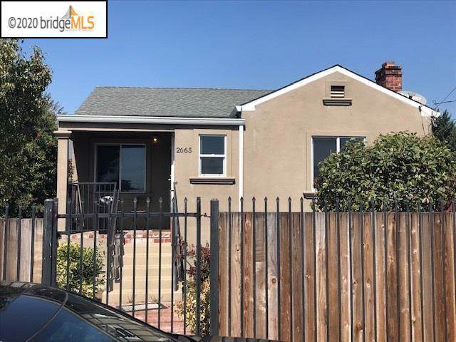 2665 Talbot Ave, Oakland, CA 94605 (#40892637) :: Armario Venema Homes Real Estate Team