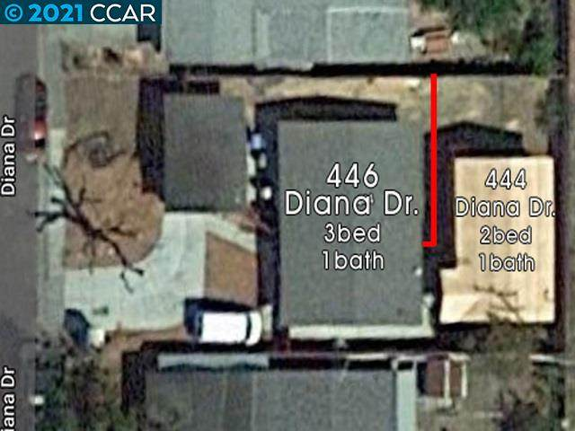 444 Diana Drive, Vallejo, CA 94589 (#40938237) :: Blue Line Property Group