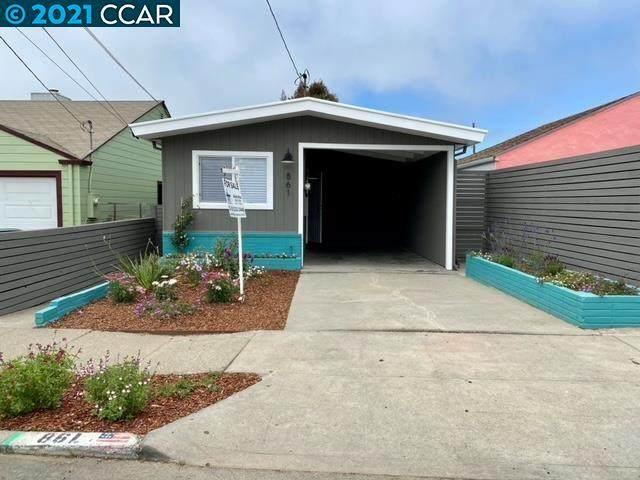 861 30Th St, Richmond, CA 94804 (#40957828) :: Armario Homes Real Estate Team