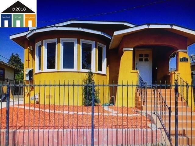 2457 65Th Ave, Oakland, CA 94605 (#40838019) :: Armario Venema Homes Real Estate Team