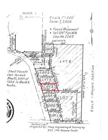 Meyers Addition L#4, B#1, Estelline, SD 57234 (MLS #21-391) :: Best Choice Real Estate