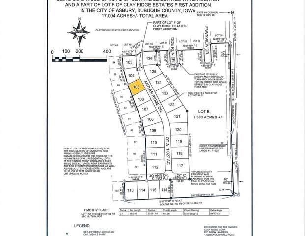 Lot 105 Antler Rdige Drive, Asbury, IA 52002 (MLS #141874) :: EXIT Realty Dubuque, Dyersville & Maquoketa