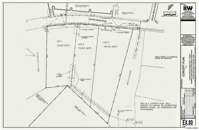 Lot 1 Cedar Cross Road Road, Dubuque, IA 52003 (MLS #136130) :: EXIT Realty Dubuque, Dyersville & Maquoketa
