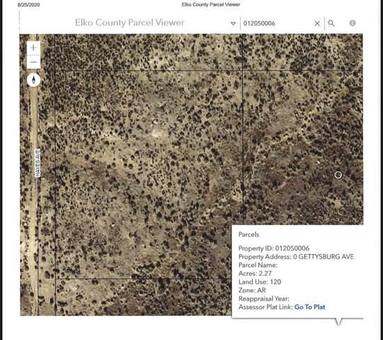 TBD Gettysburg Avenue, Elko, NV 89801 (MLS #3619478) :: Shipp Group